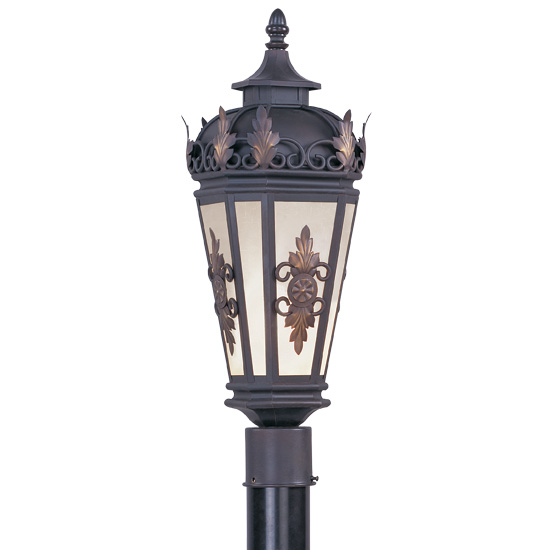 Livex Lighting 2194-07 Berkshire Outdoor Post Head in Bronze